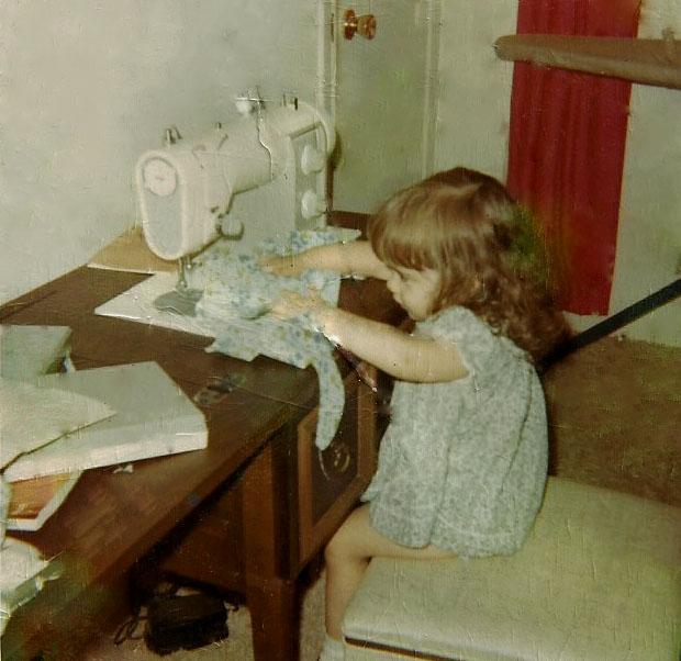 Meredith young at sewing machine-edit